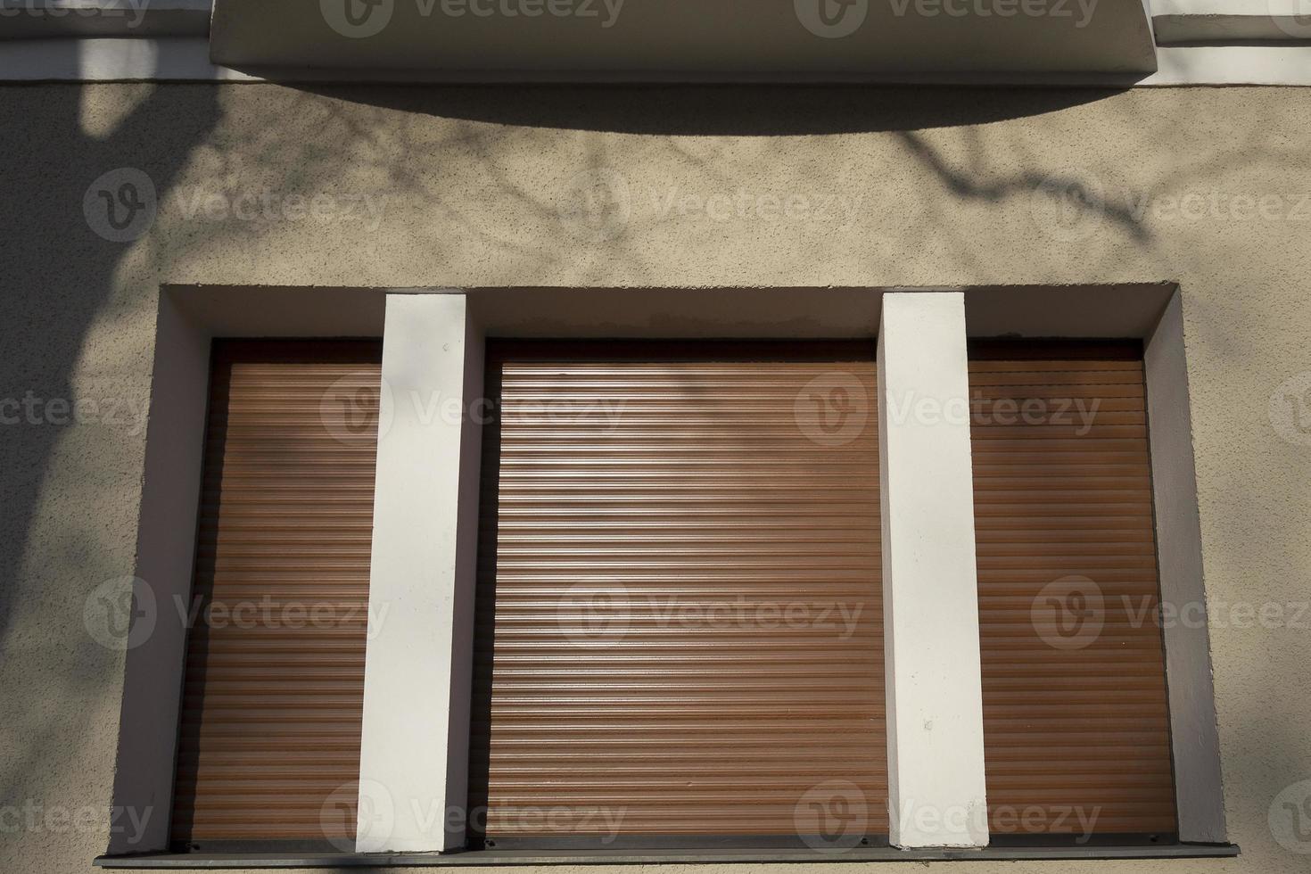 geschlossenes Fenster foto