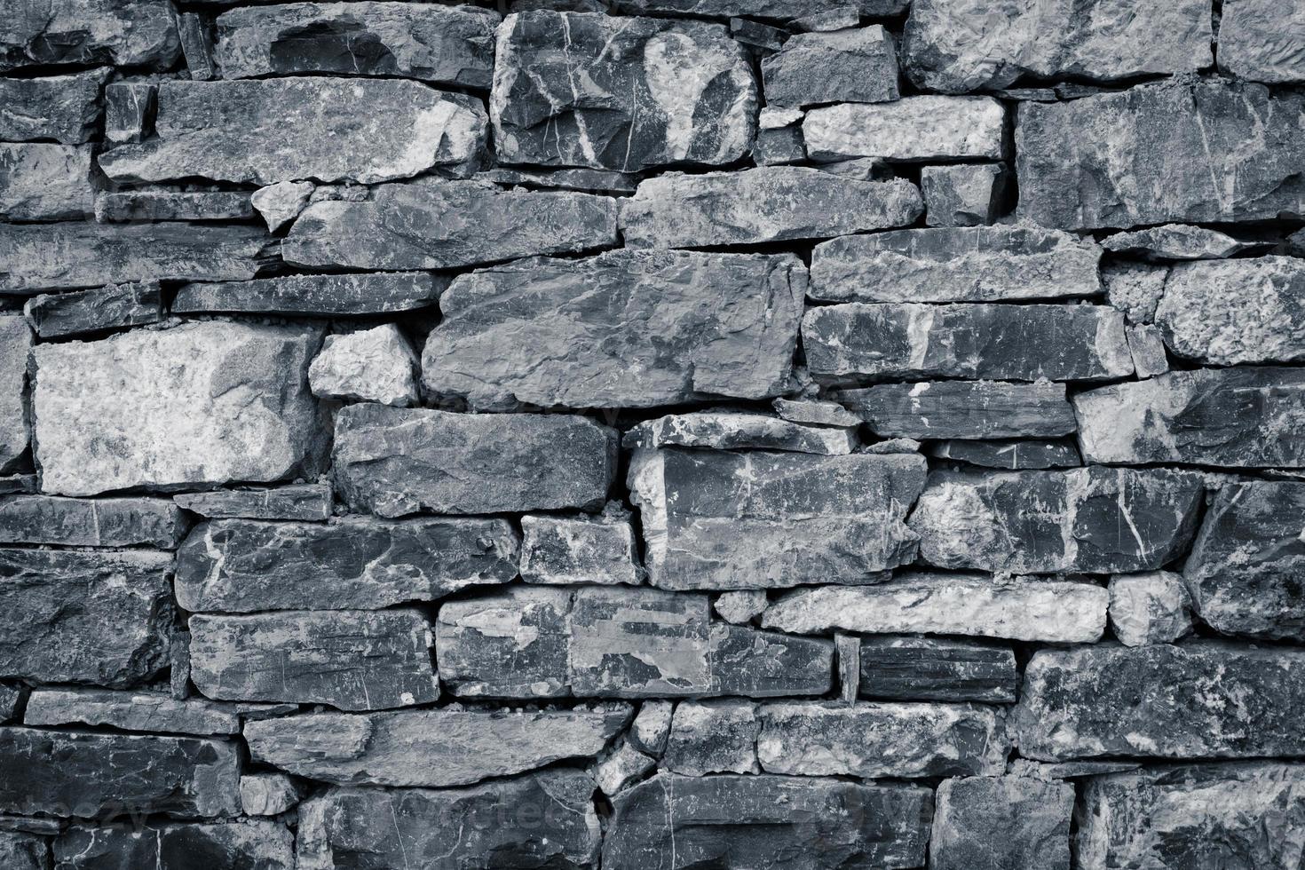 Steinmauer als Textur foto