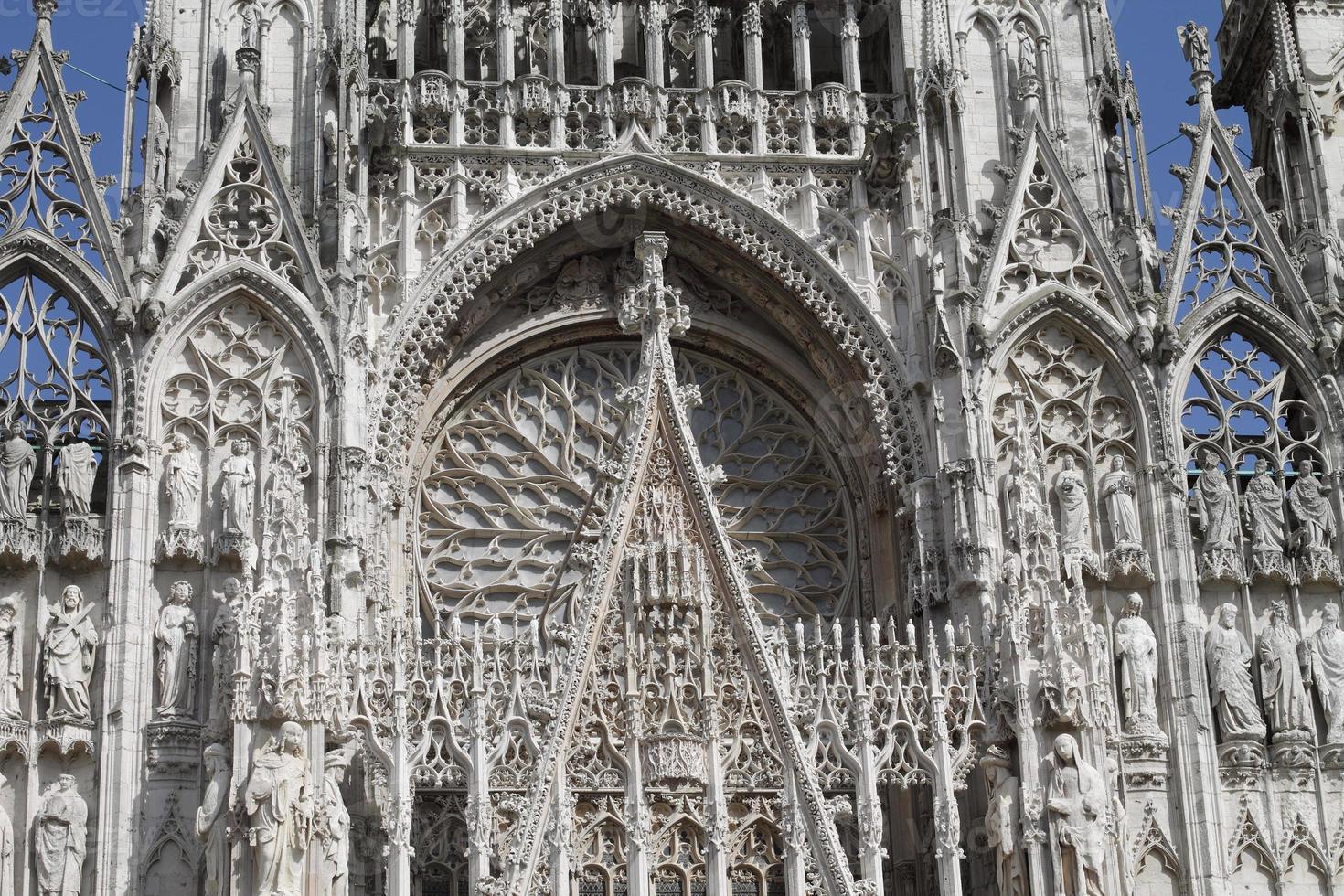 Kathedrale von Rouen foto