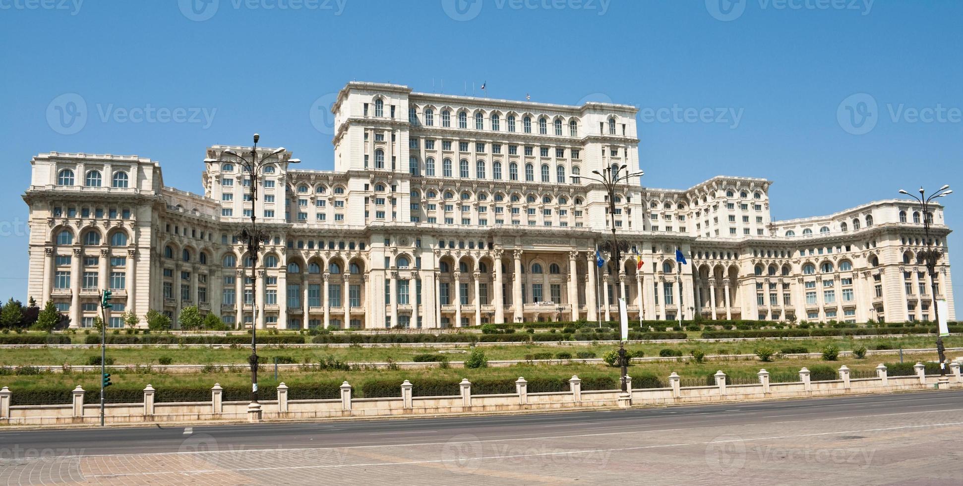 Palast des Parlaments, Bucharest Rumänien foto