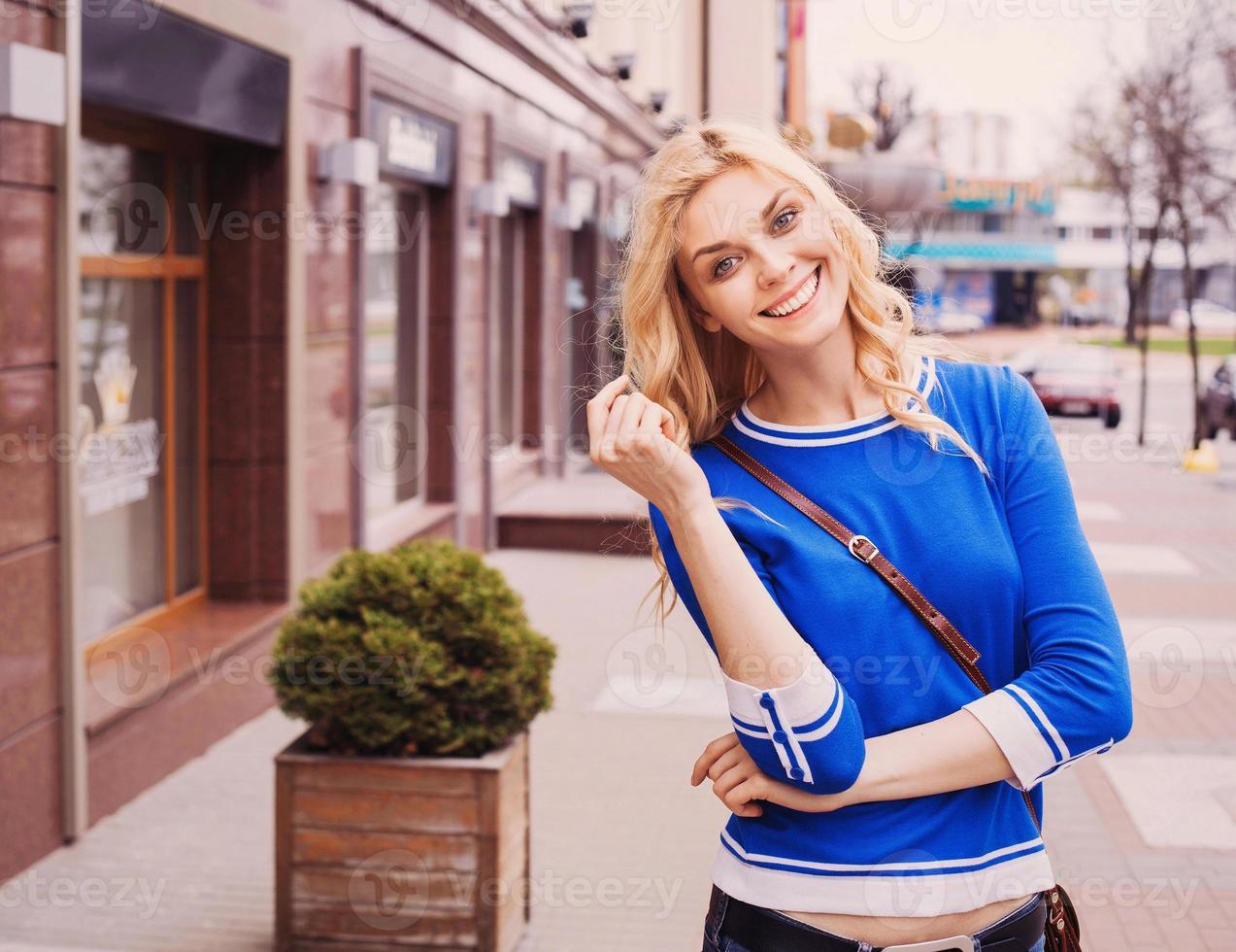trendige Mode Mädchen foto