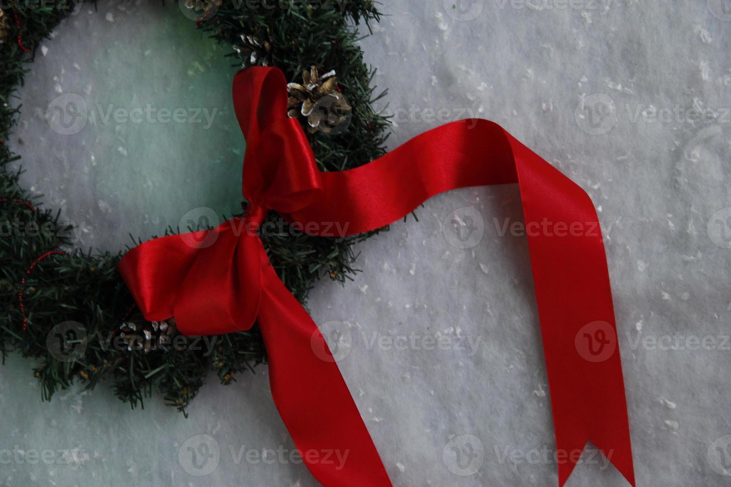 Weihnachtskranz foto