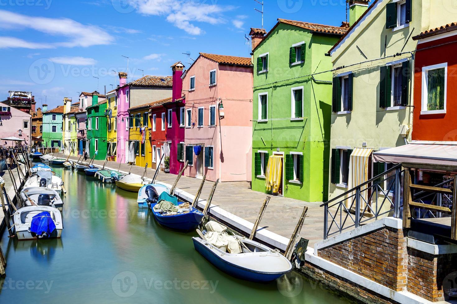 Burano Dorf in der Nähe von Venise foto