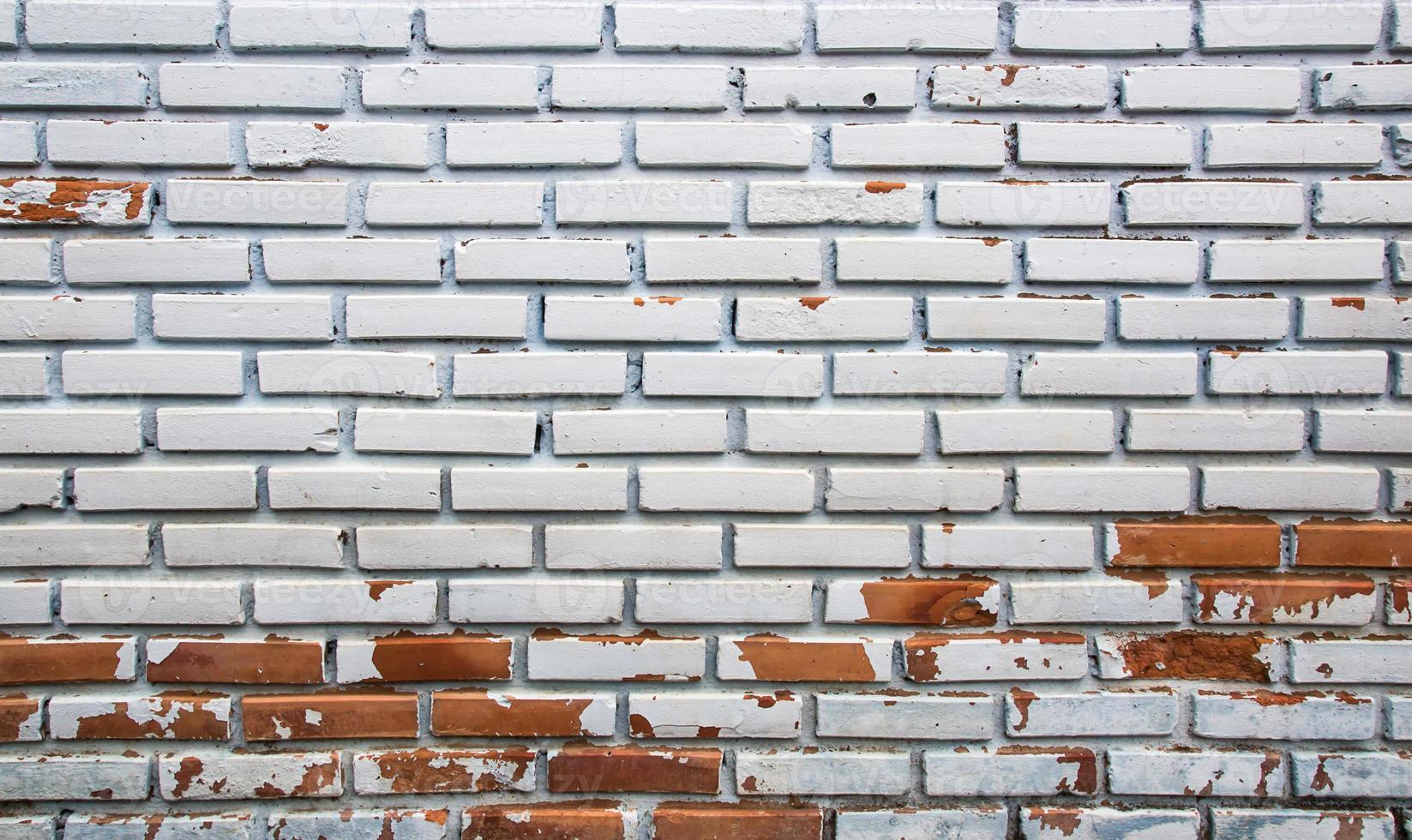 Hintergrund der alten Backsteinmauer Textur foto