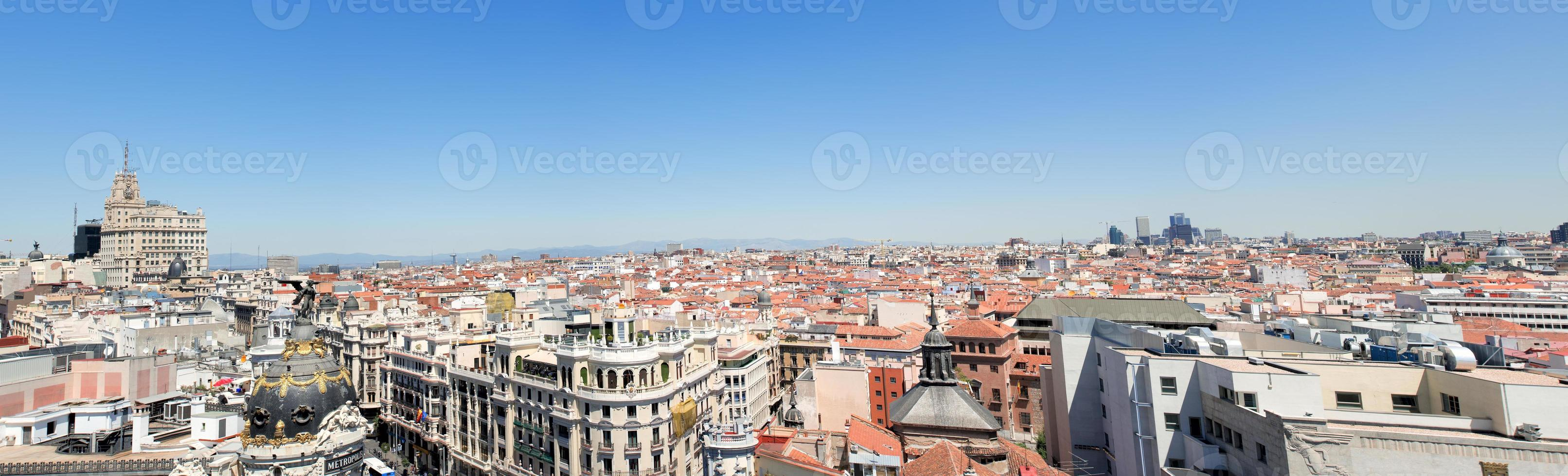 Panoramablick auf die Stadt foto