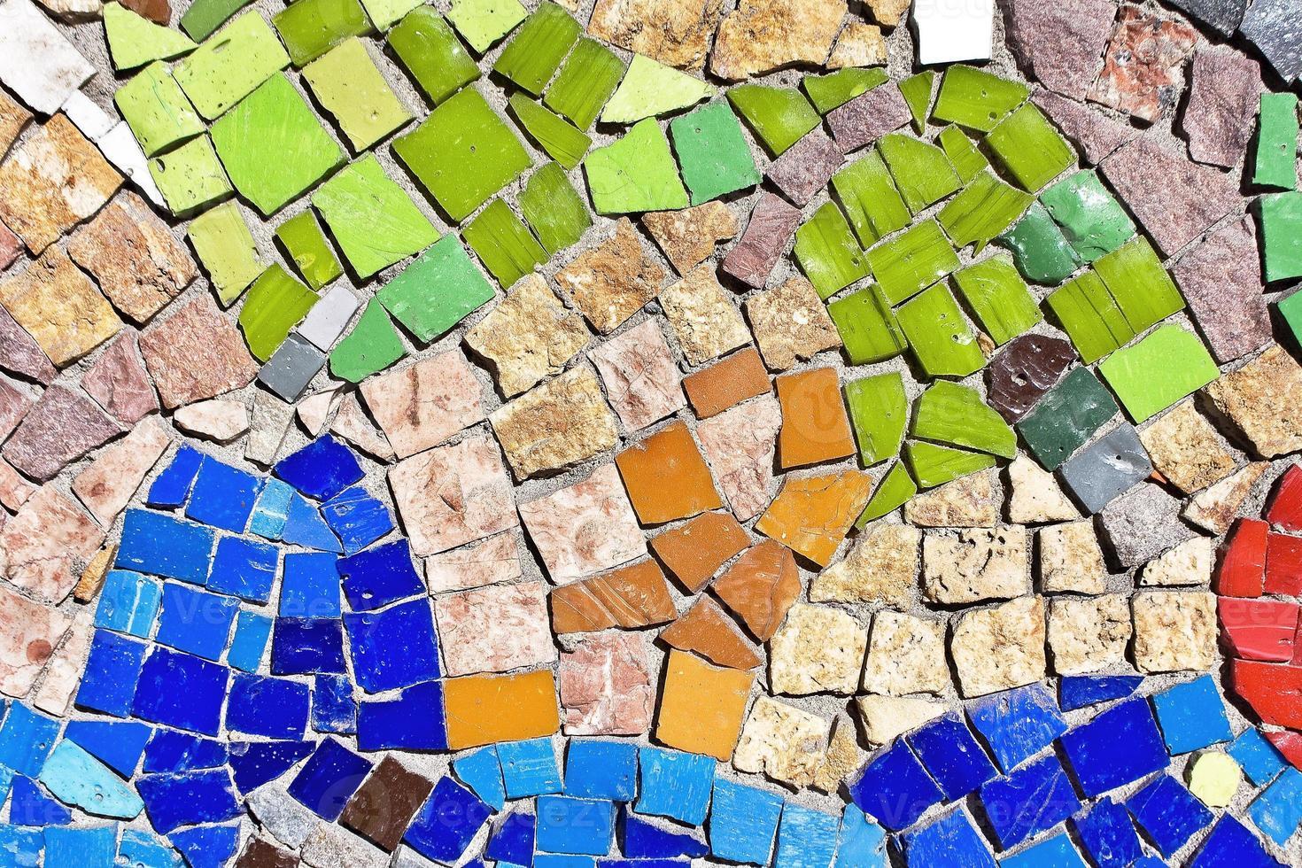 Mosaik Hintergrund foto