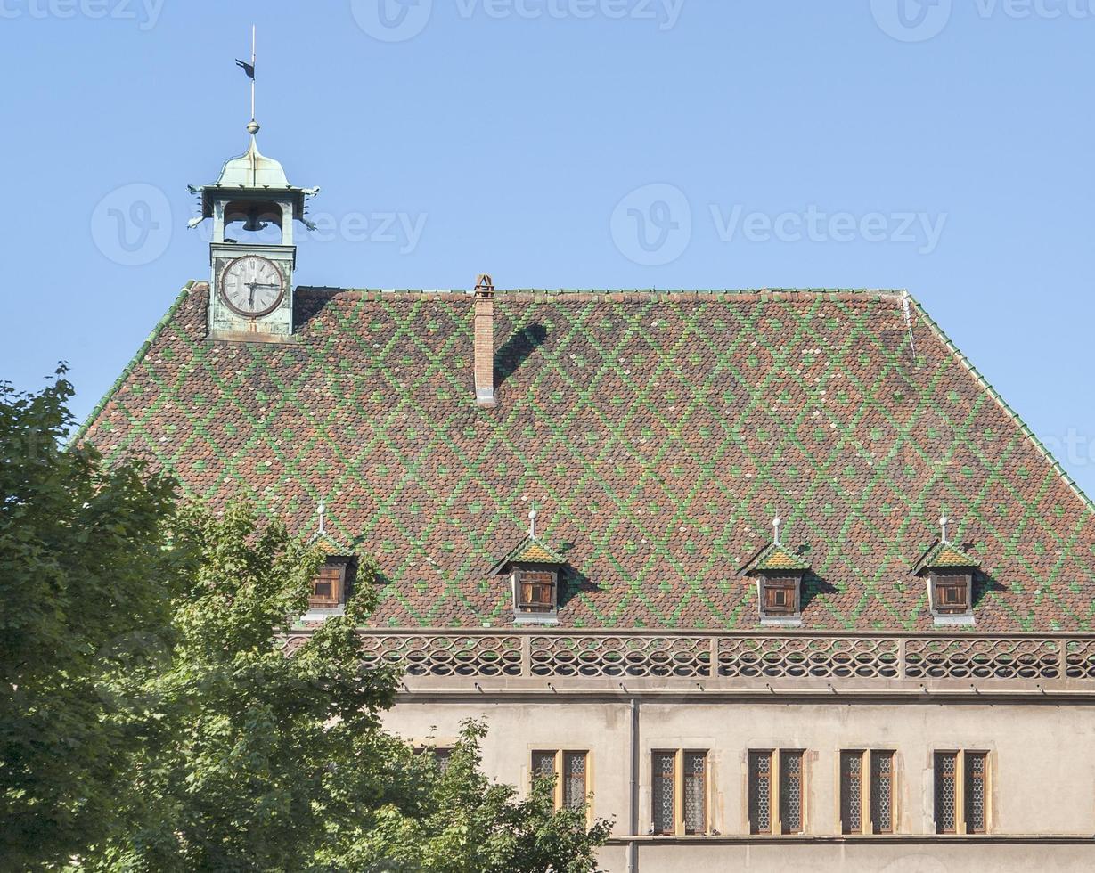 verziertes Dach foto