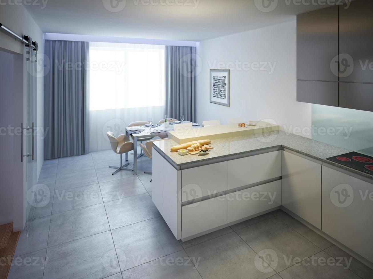 modernes Küchendesign foto