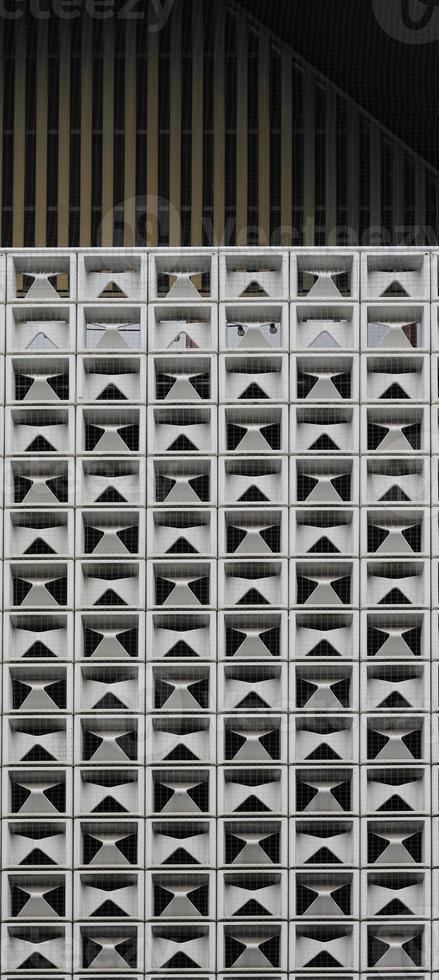 periodische Struktur quadratischer Zellen foto
