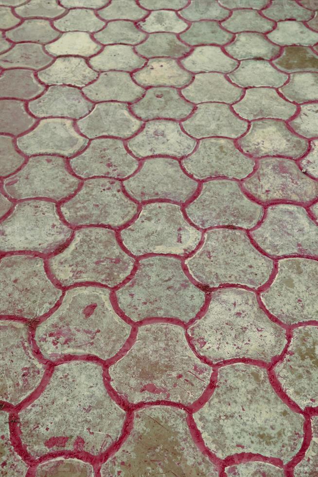 Steinblockpflasterhintergrund foto