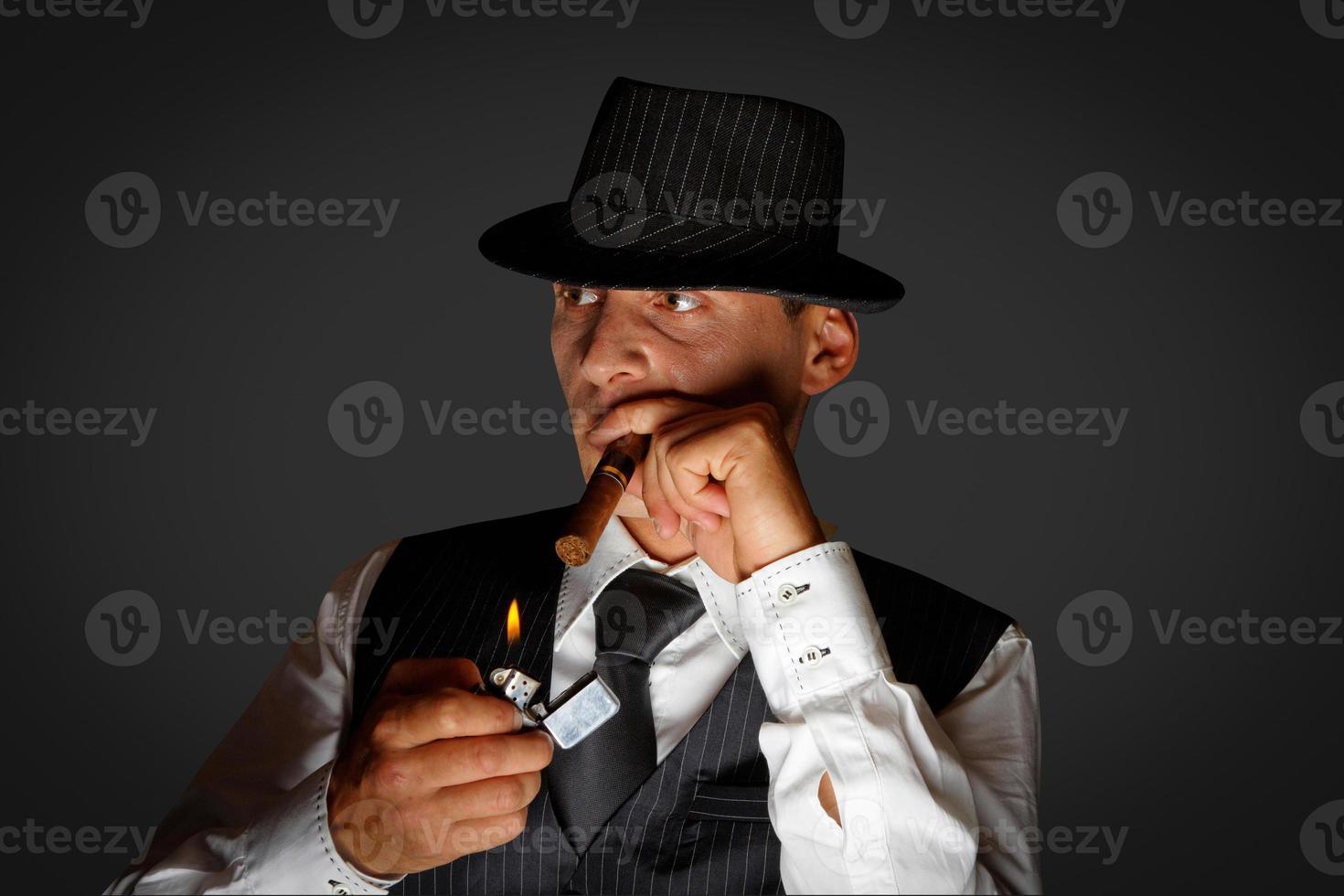 junger Gangster foto