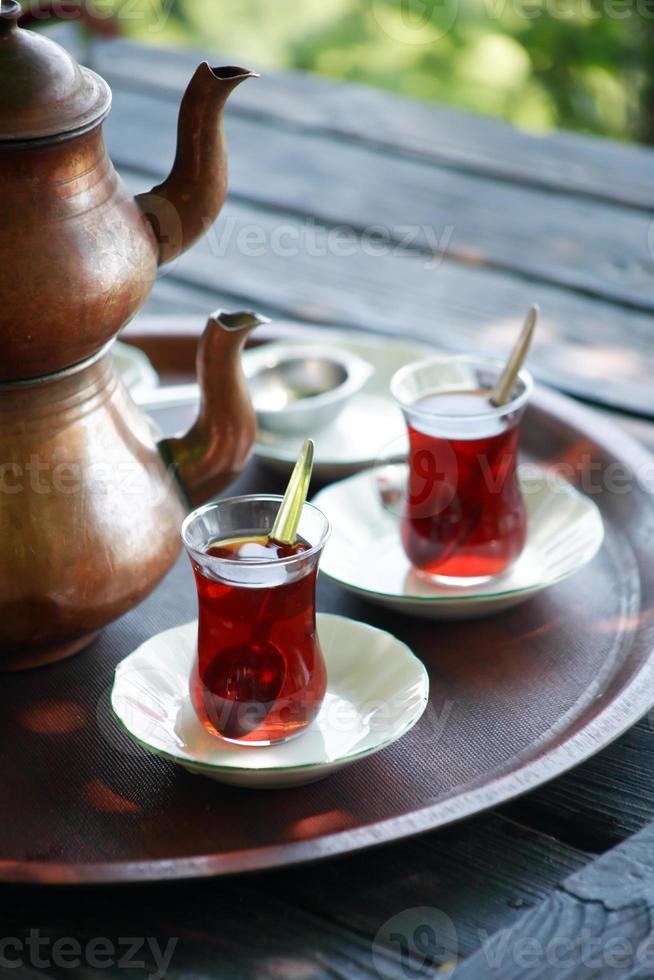 türkischer Tee foto