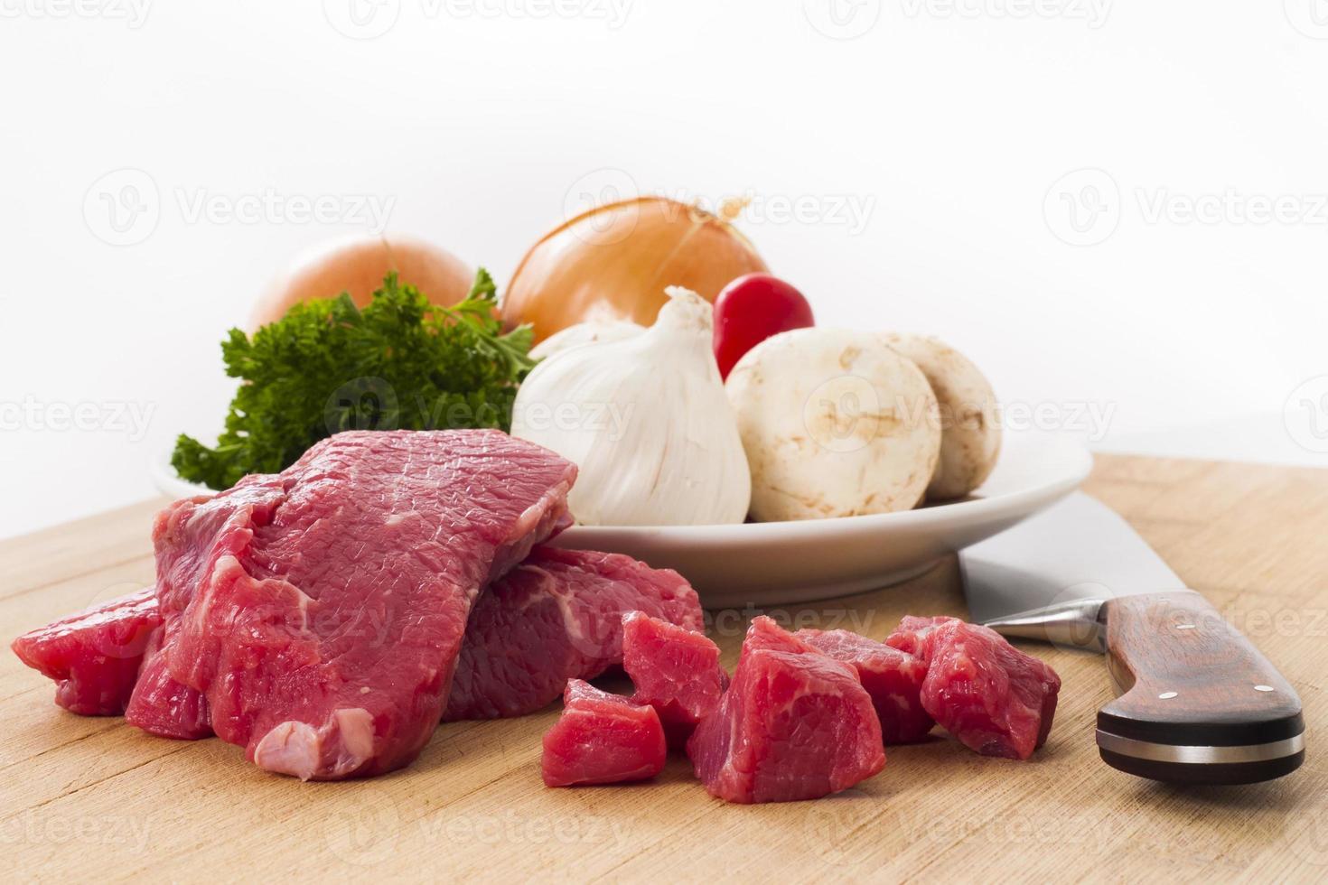 Zubereitung des Abendessens foto