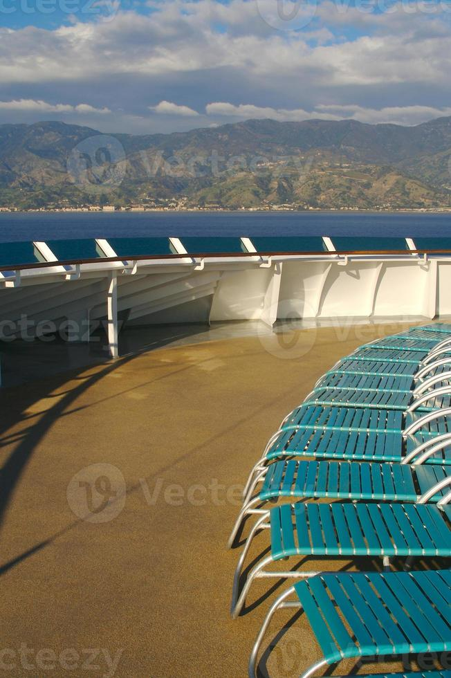 Kreuzfahrtschiff Deck - 1 foto