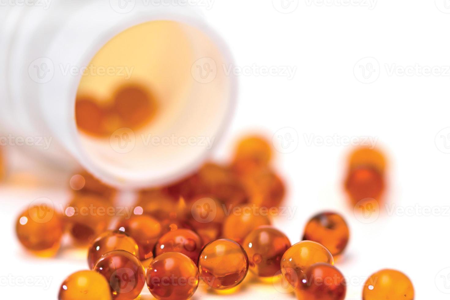 verschreibungspflichtige Medikamente Schmerzmittel und Medikamentenflasche foto