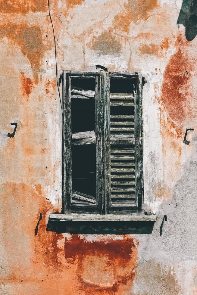 rustikales Vintage Fenster foto