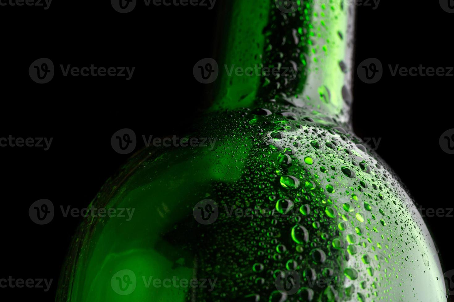 Glasflasche Nahaufnahme foto