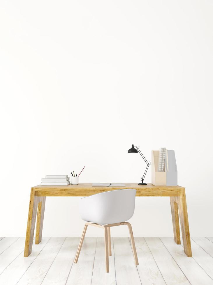 minimaler Arbeitsraum foto
