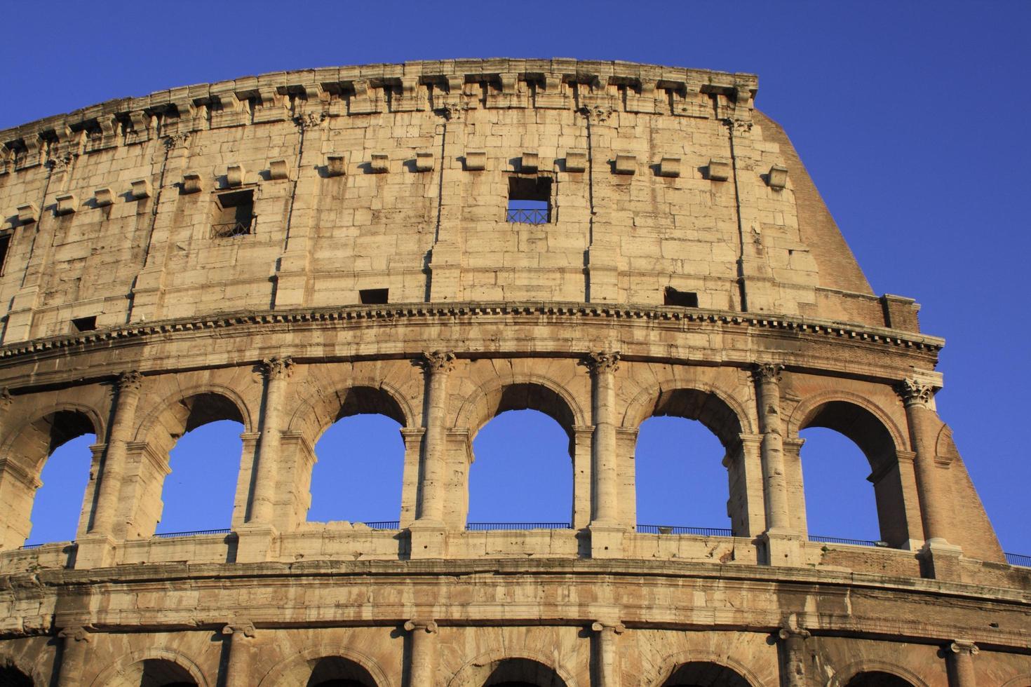 das Kolosseum, Rom Italien foto