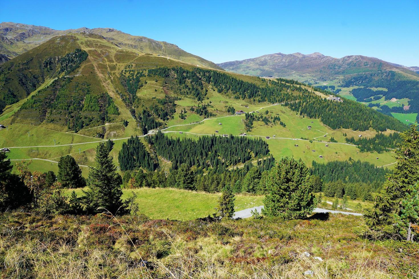 Berglandschaft in Österreich foto