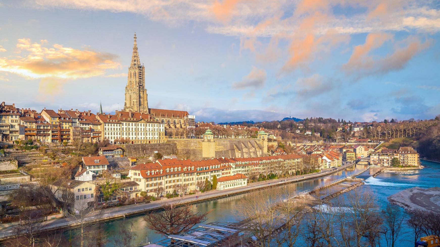 Altstadt Bern, Hauptstadt der Schweiz foto