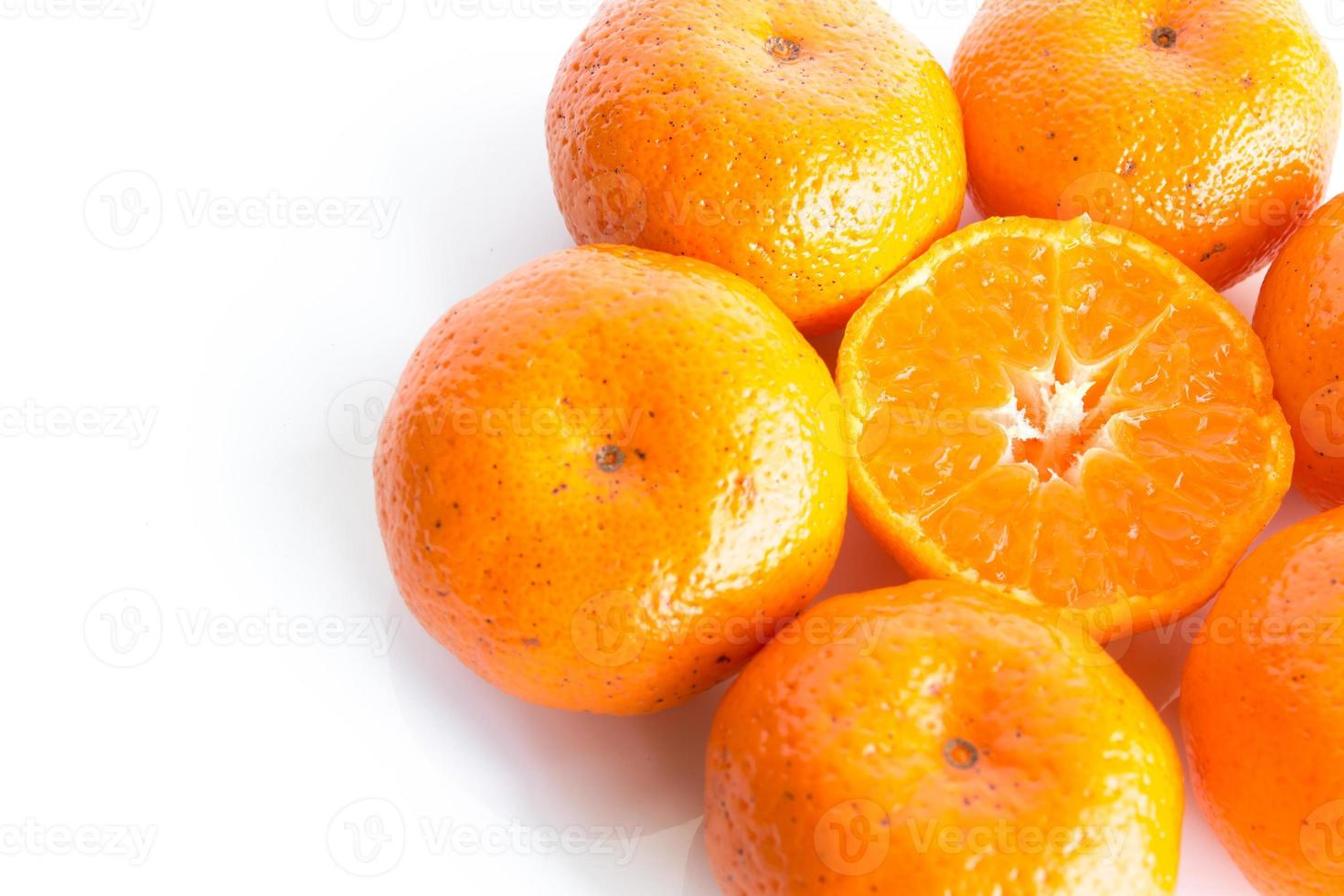 orange isoliert foto