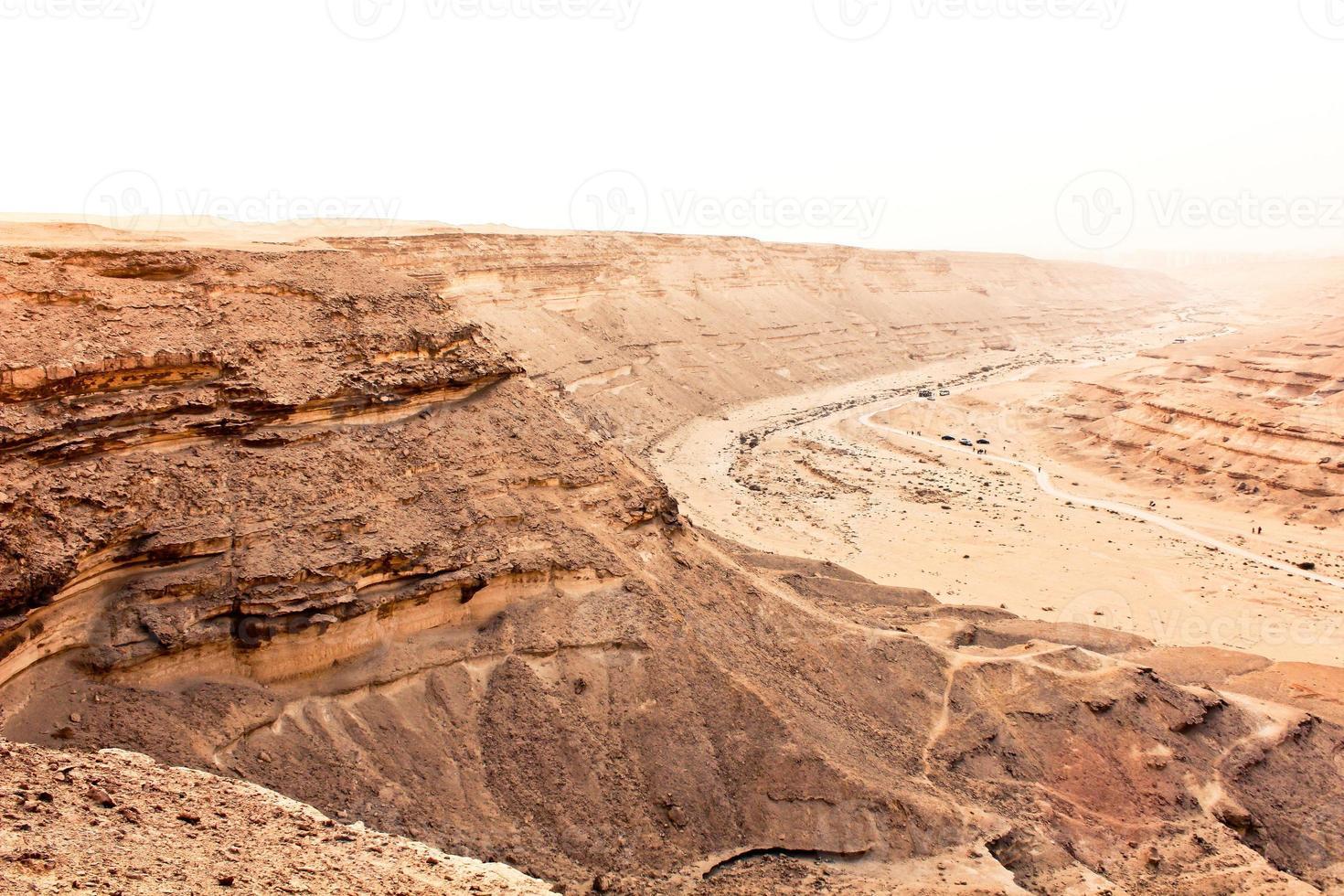 das Wüsten-Elrayan-Tal Sahara foto