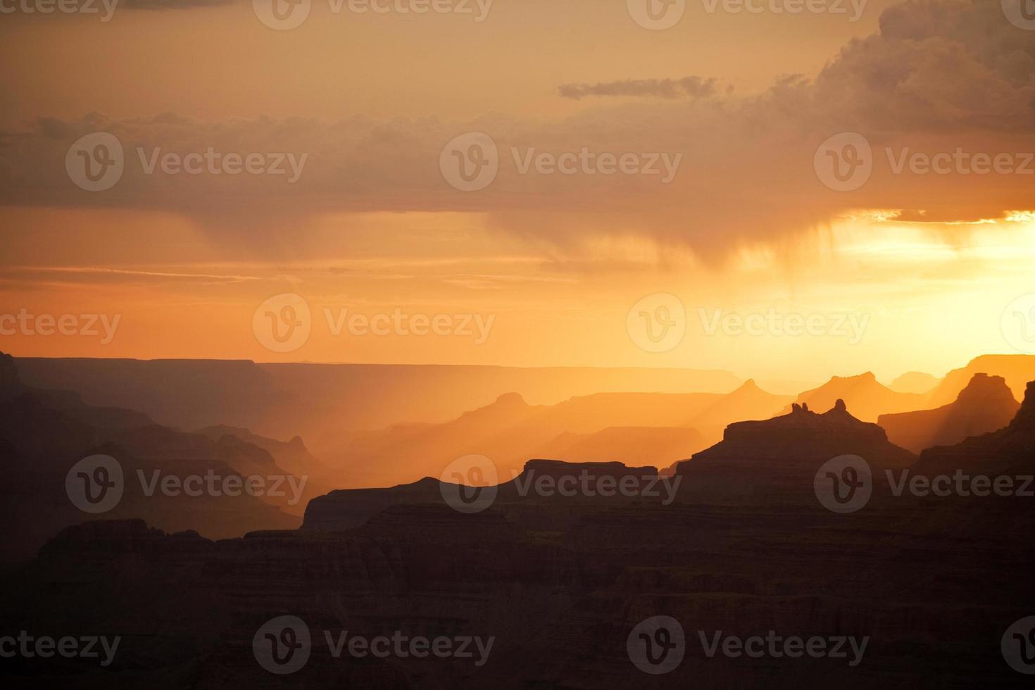 Fantastischer Blick in den Grand Canyon vom Mathers Point foto