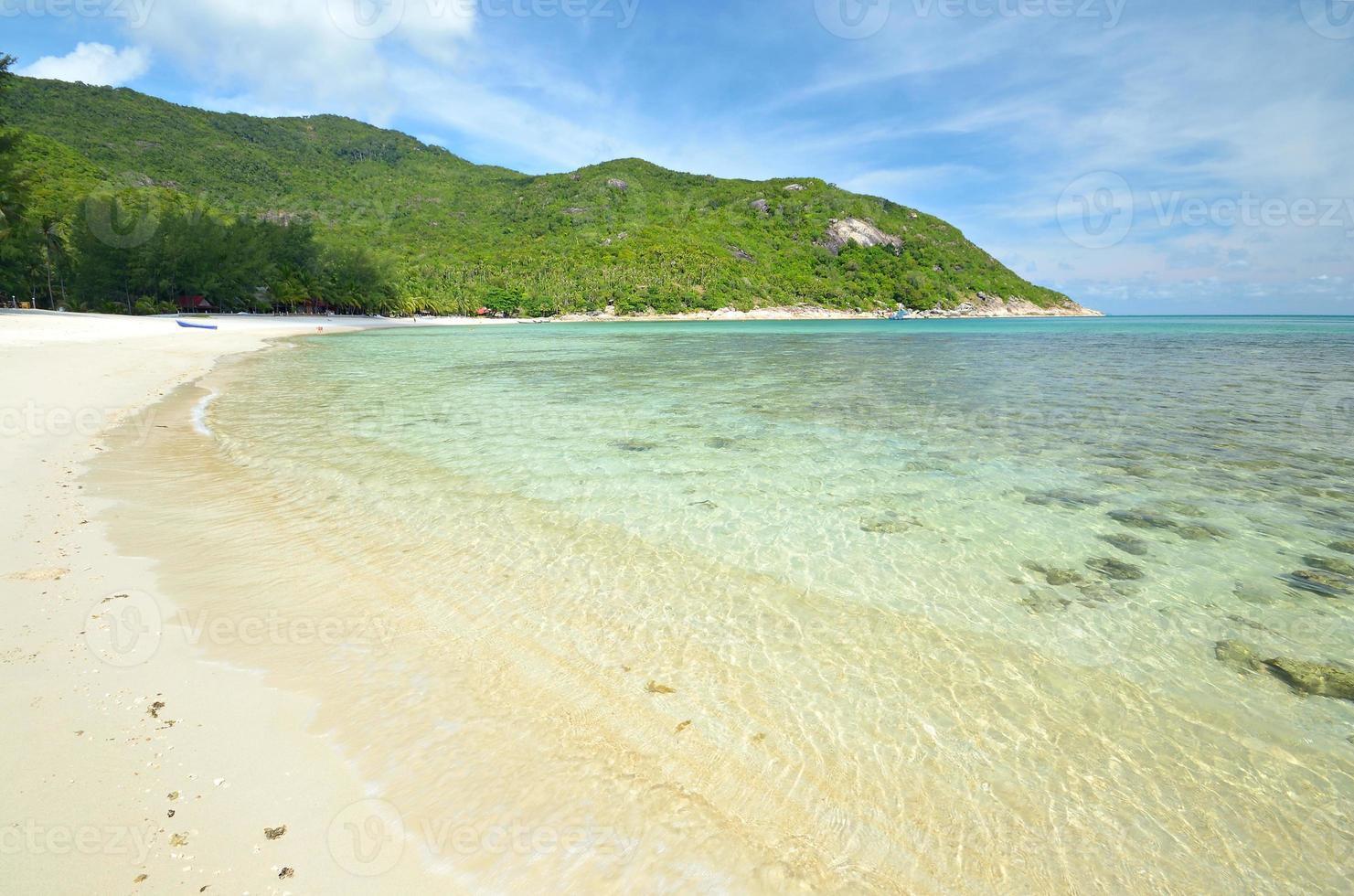 atemberaubende tropische Bucht foto