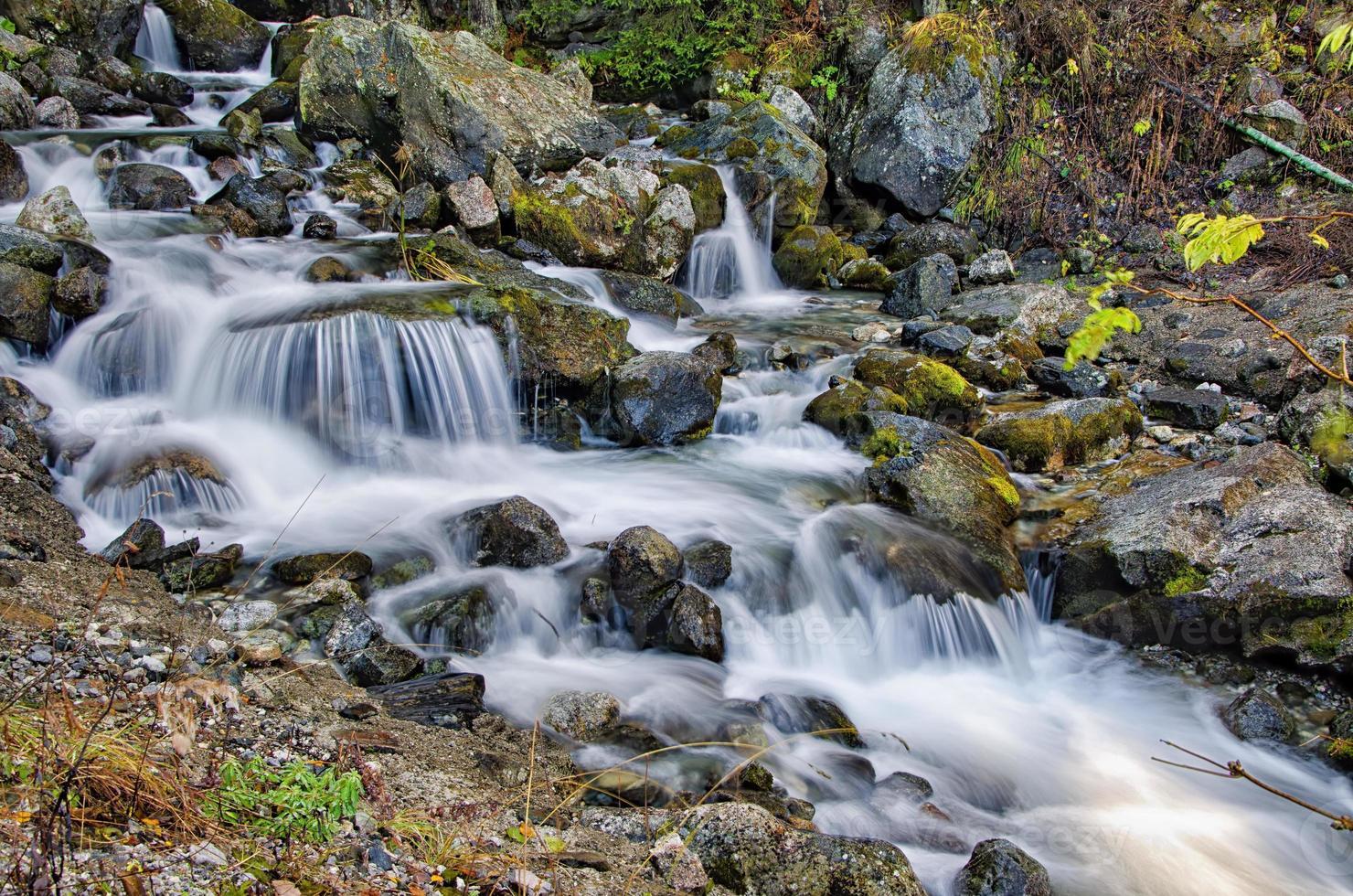 Wasserfall in Rila foto
