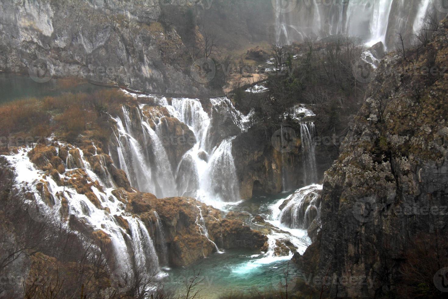 Kroatiens Nationalpark Plitvice Lakes foto