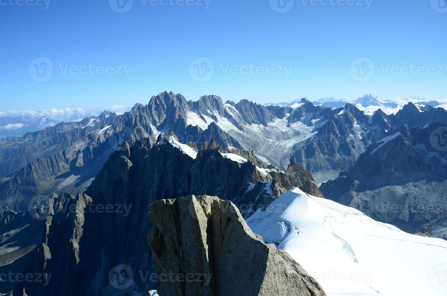 Bergpanorama foto