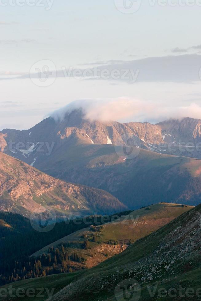 Colorado Sonnenaufgang foto