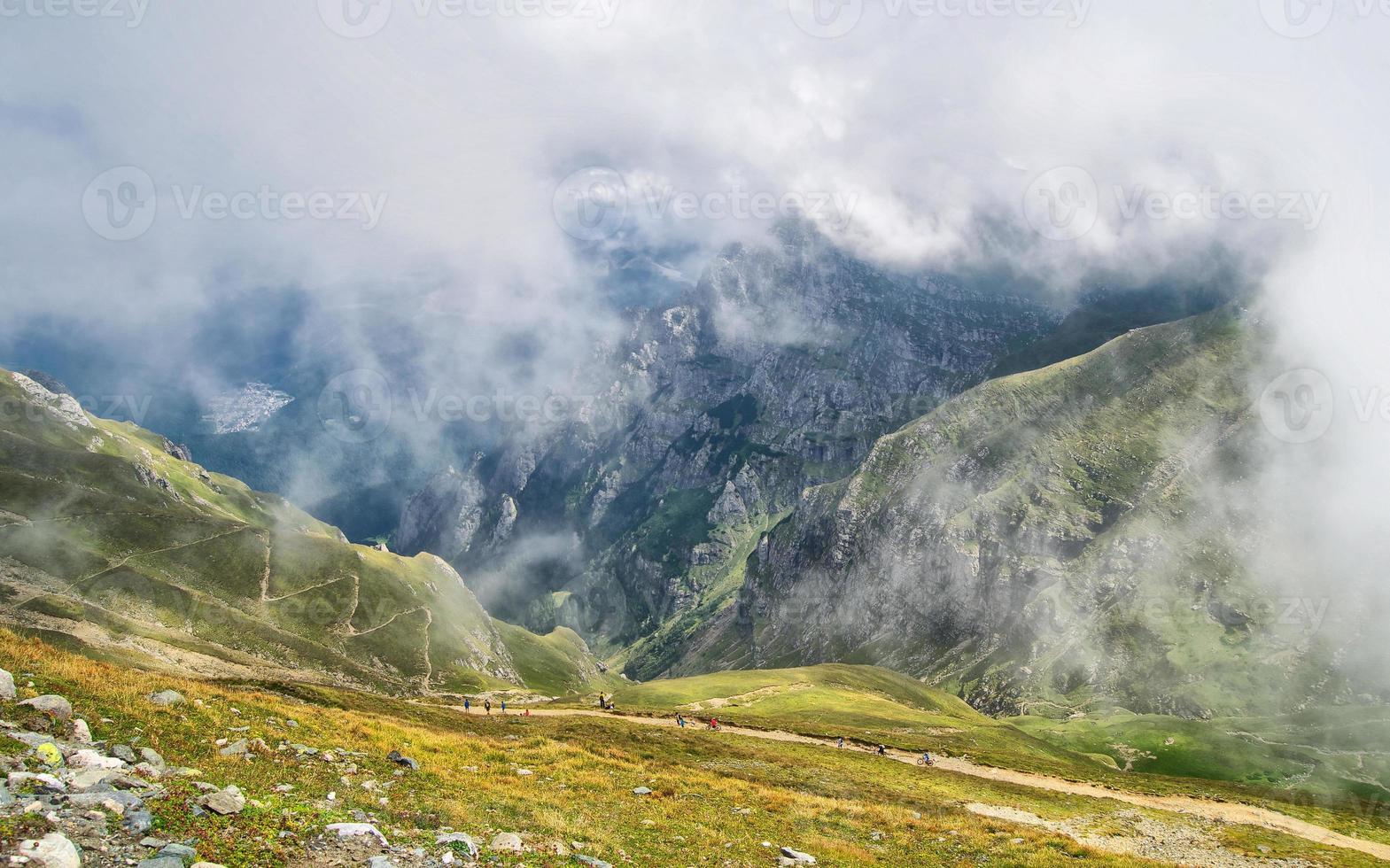 Bucegi Berge in Rumänien foto