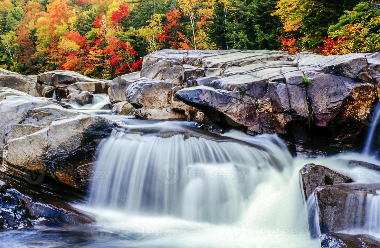 weiße Berge, New Hampshire foto