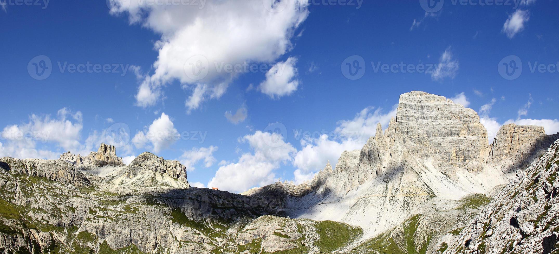 herrliche Aussicht auf die Dolomiten foto