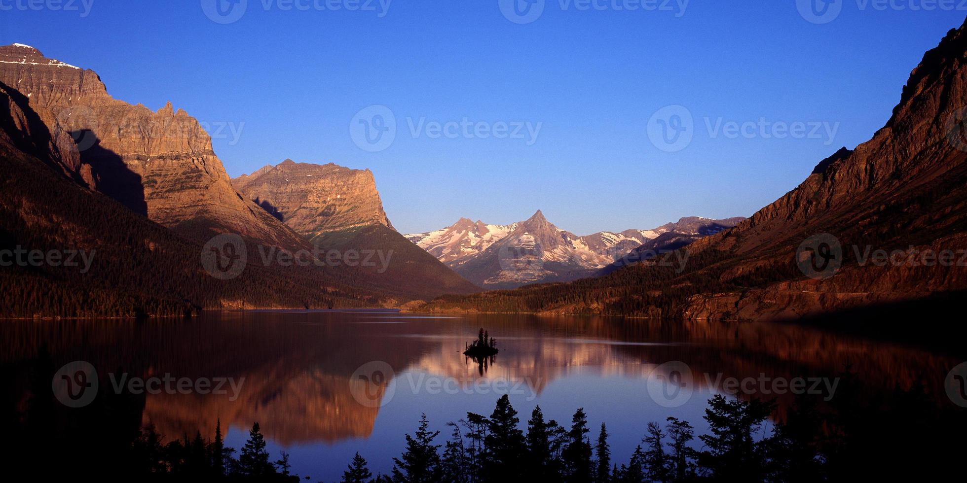 Saint Mary Lake Gletscher Nationalpark foto
