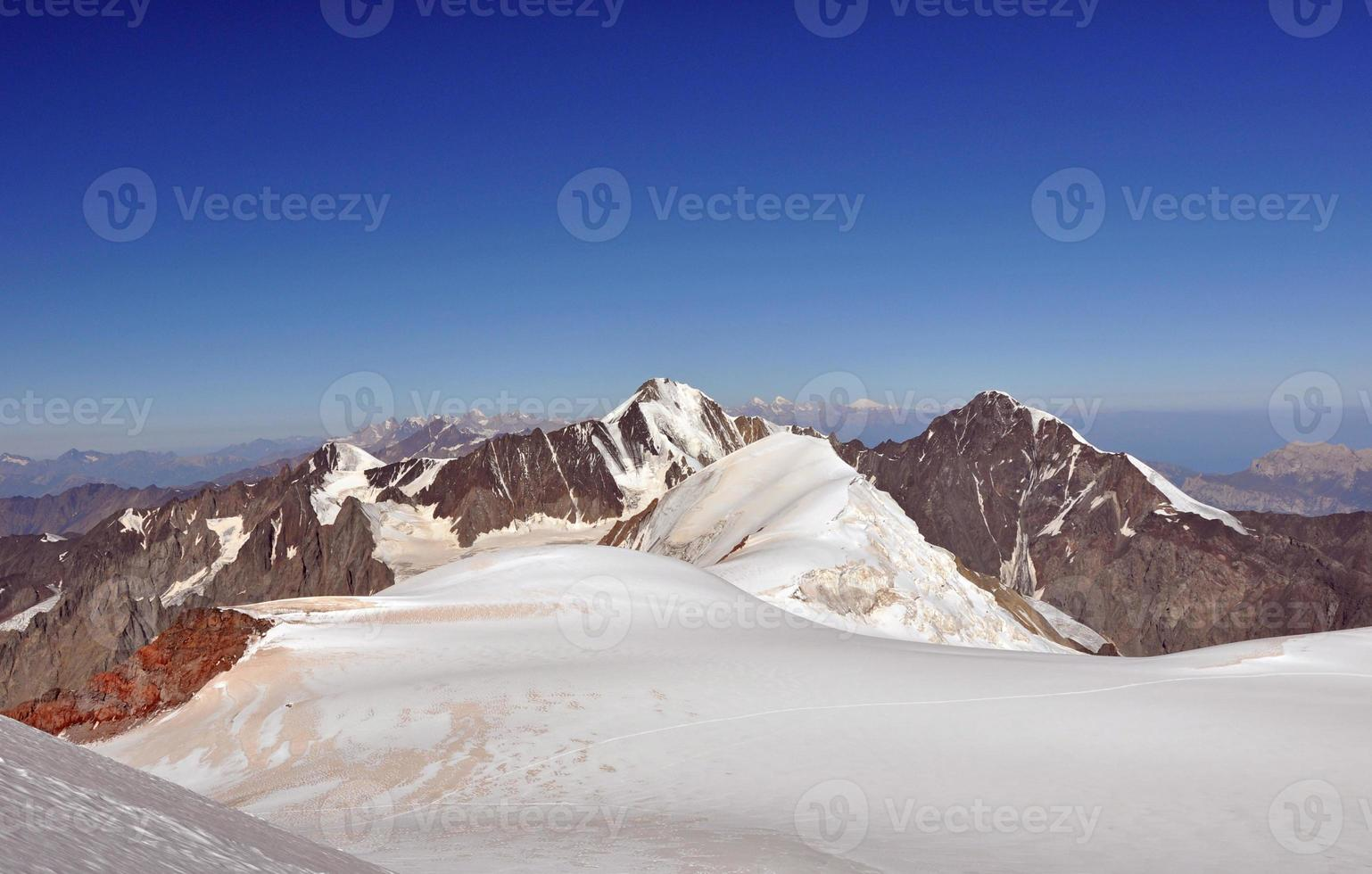 Gipfelaufstieg foto