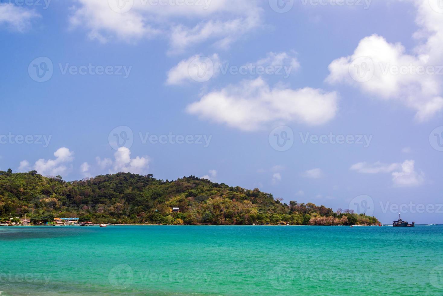 Sapzurro Seelandschaft foto