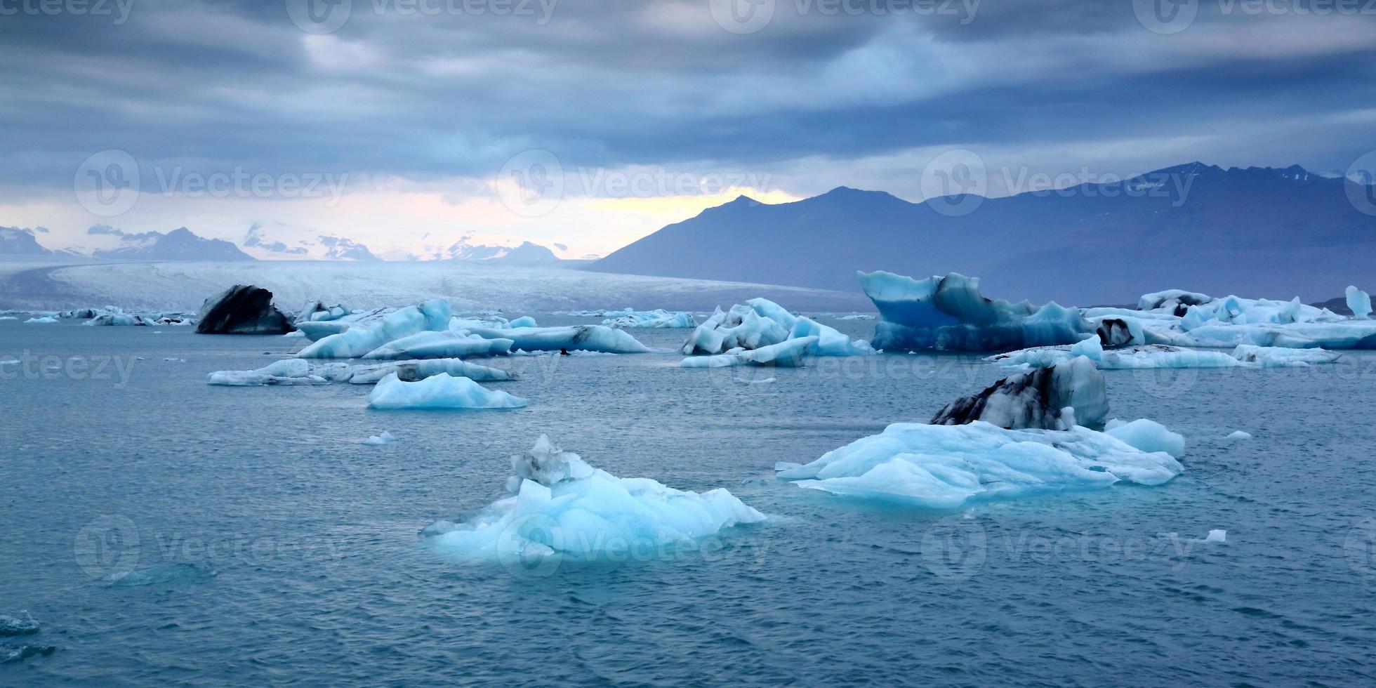 jökulsárlón, Island foto