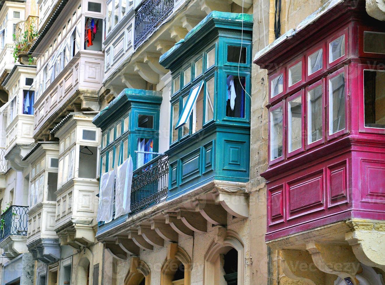maltesische Häuser foto