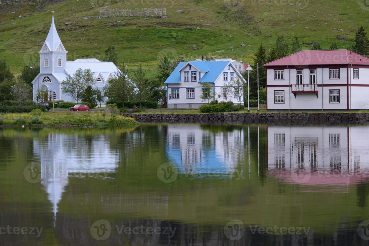 Haus auf der Insel foto