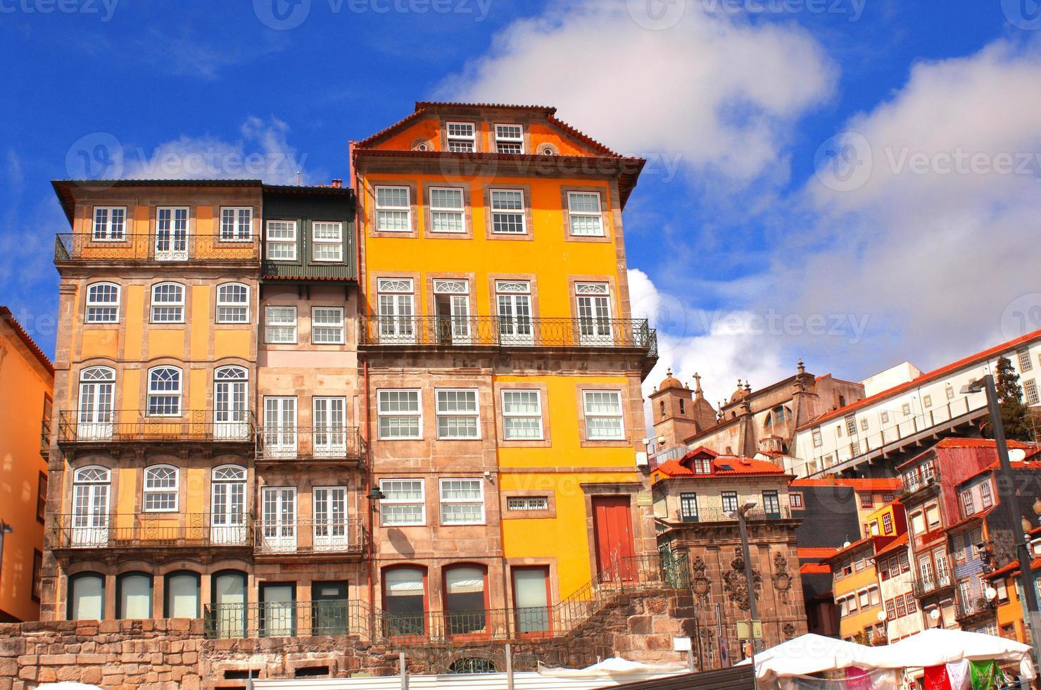 alte häuser in porto, portugal foto