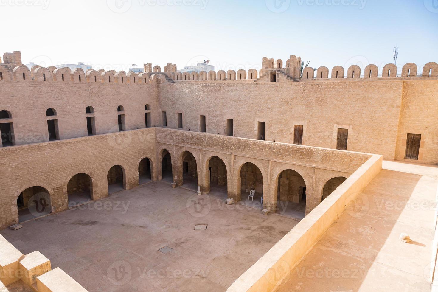 alte häuser in medina von sousse, tunesien foto