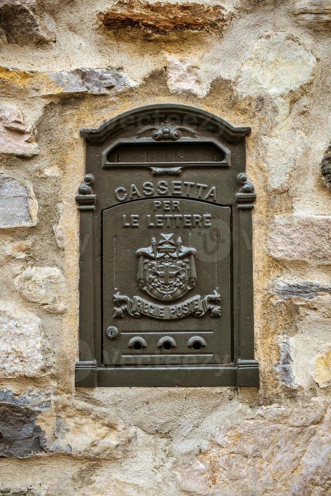 alte italienische Mailbox foto