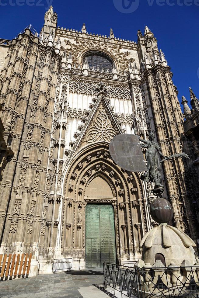 Kathedrale in Sevilla, Spanien foto