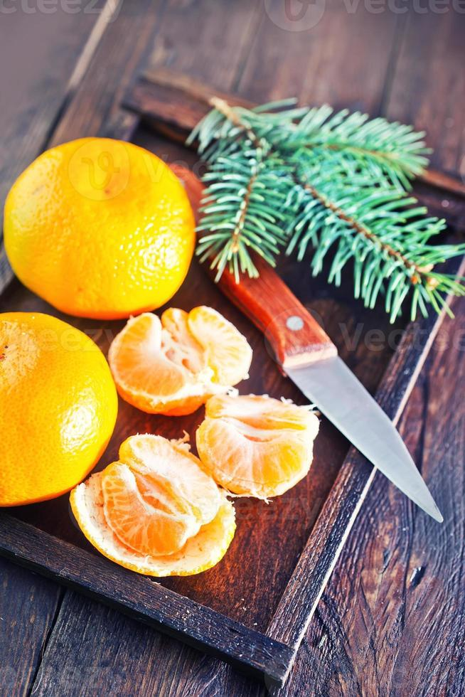 Mandarinen foto