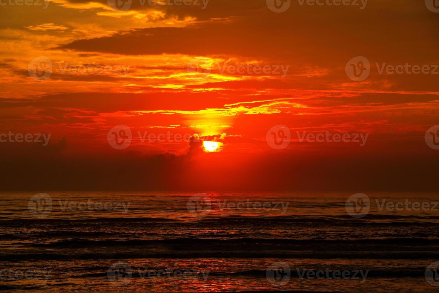 Sonne, Himmel, Wolken, Meer foto