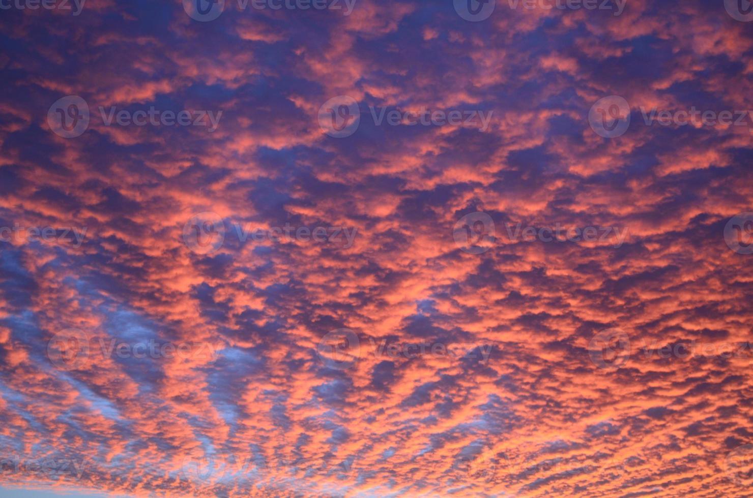 Altocumulus Himmel foto