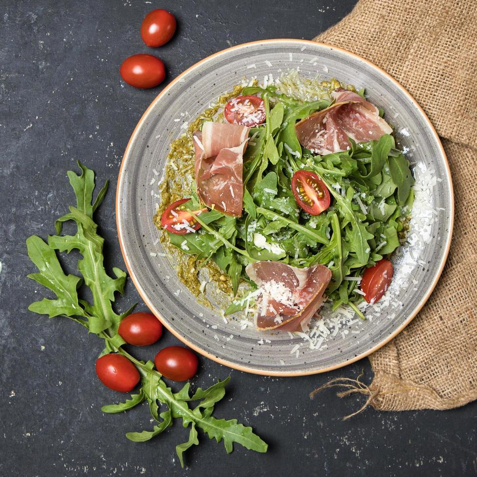 Rucola-Pancetta-Salat foto